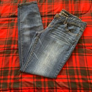 GUESS Marina Mid-Rise Skinny Jean Light Wash Sz 32